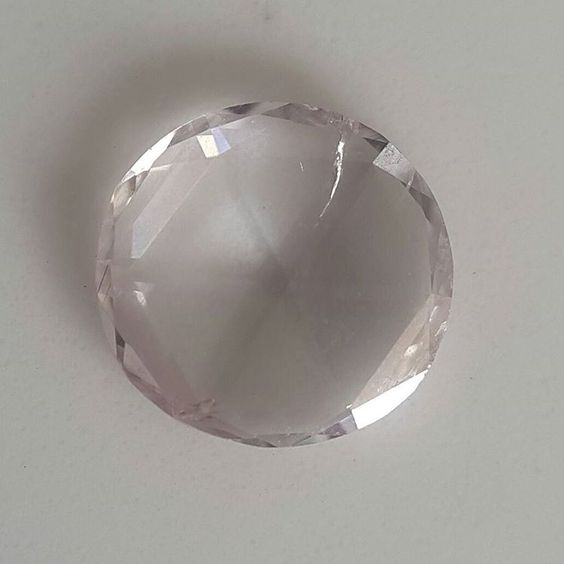 """57)  0.37 ct pink  #greatdiam#rosecutdiamonds#rosecut#diamond#diamonds#necklace#ring#earring#luxury #slicediamonds #diamondslice #diamonds #rushabhint…"""