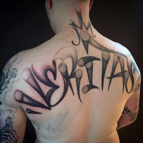 Tatuajes En La Espalda 227 Mejores Disenos Para Hombres Tatuaje De Graffiti Tinta Para Tatuaje Tatuajes Chiquitos