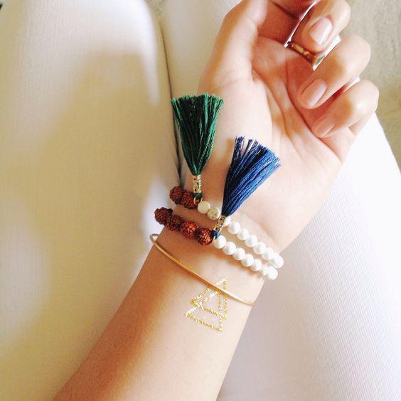 Tasselstone bracelets on Etsy!
