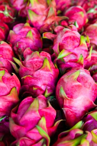 Dragon Fruits! I have to try these! #abucketfullofsummer #PAULxSUMMER