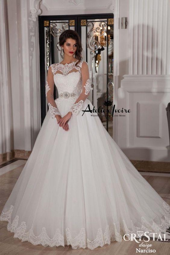 Wedding Dress Narcisco by Atelier Ivoire! www.atelierivoire.bg