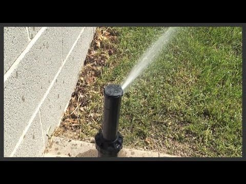 How To Raise Elevate A Sprinkler Head Youtube Sprinkler Heads Sprinkler Orbit Sprinkler