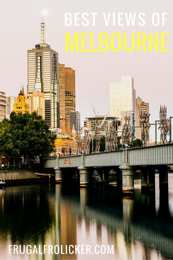 Best Views of Melbourne, Australia. #travel #australia #melbourne / / / / / Check out more travel photos and blog posts on my travel blog, frugalfrolicker.com