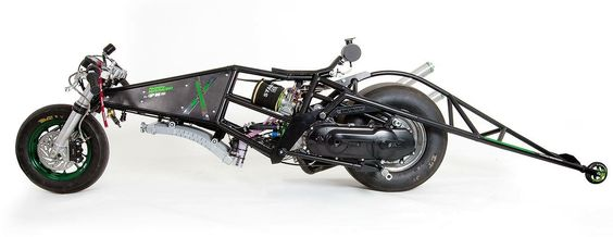 Dragster bicylindre 192 cc MXS Racing