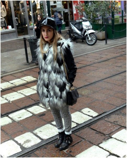 Streetstyle in Mailand
