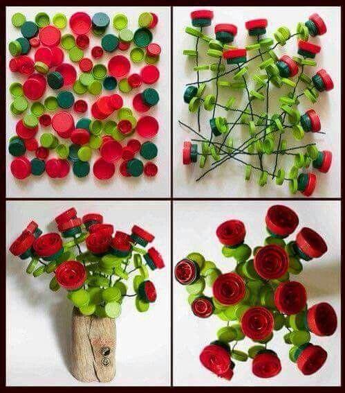 Fai Da Te e riciclo creativo con i tappi di plastica | Posti da Visitare, Notizie Incredibili, Fai Da Te, Curiosità, Immagini e Video Divertenti | Natifly