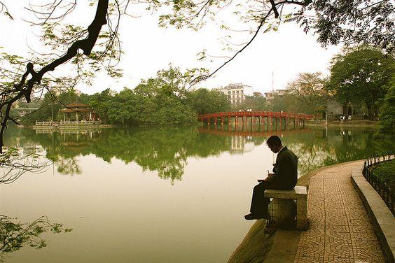 Hanoi serenity has quiet places too <3 :X Hanoi , my hometown , my love ^^ :x