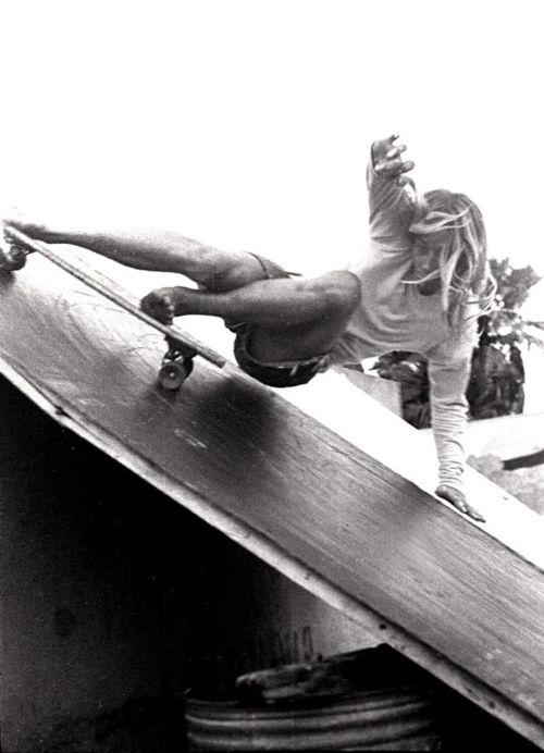 vintage skateboard ramp