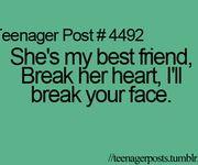 Teenager Posts About Best Friends | TEENAGER POST!!!!!!!!!!!!!!!!!!!!!!!!!!!@LizbethLSmith  @randomidiot