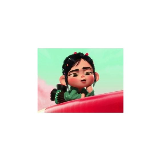 Wreck-it Ralph Ralph Meets Vanellope ❤ liked on Polyvore featuring disney