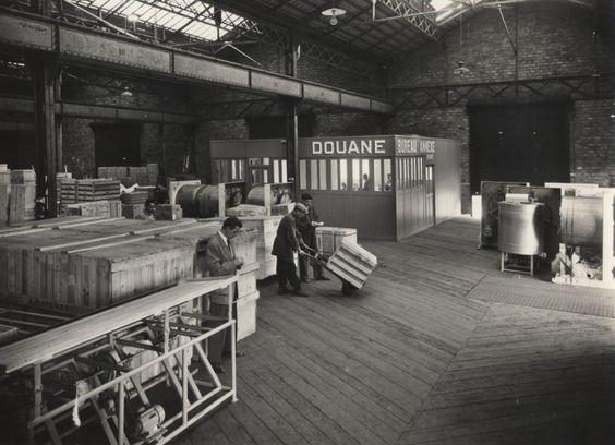 Un magasin aux entrepôts de Pantin, [1950-1960]. © DR / CCI Paris IDF.