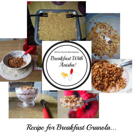 Breakfast with Anisha!: Granola