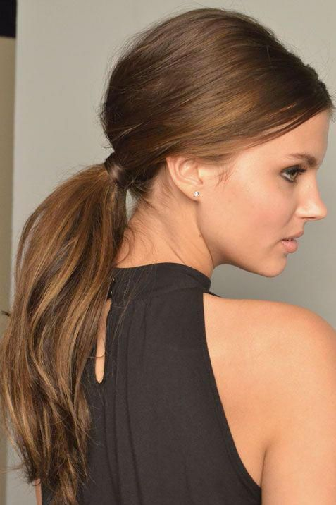 25 Easy Wedding Hairstyles For Guests That Ll Work For Every Dress Code Hair Styles Straight Hairstyles Cute Ponytail Hairstyles