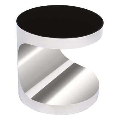 Table basse peter boove pm en acier inoxydable et verre - Longue table basse ...
