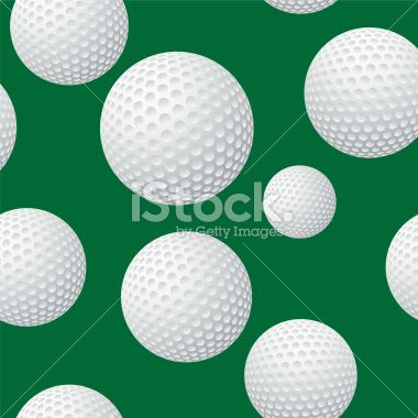 seamless golf ball grass pattern royalty free stock vector