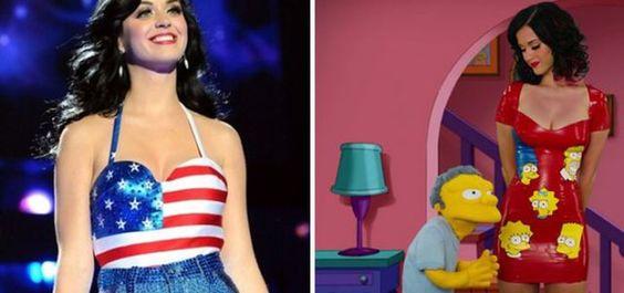 Hipernovas: Músicos famosos que já apareceram nos Simpsons (32 Imagens)