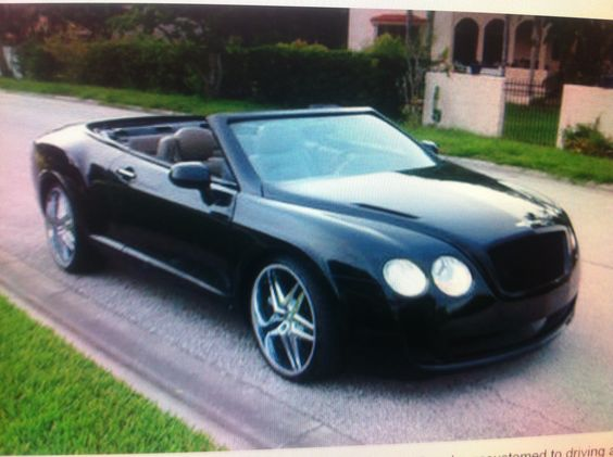 This is a Chrysler Sebring that was made to look like a