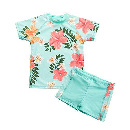 Vivafun Baby Boy Rash Guard Sun Protective Infant Toddler Swimwear