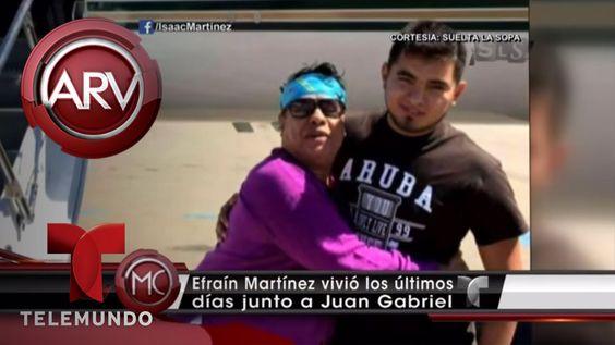 Revelan quién fue la última pareja de Juan Gabriel   Al Rojo Vivo   Tele...