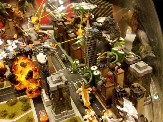 Monsterpocalypse Diorama | Kaiju Kraziness | Pinterest ...