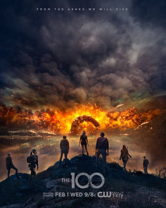 From the ashes, we will rise. Don't miss the season premiere of #The100 Wednesday, February 1 on The CW.: