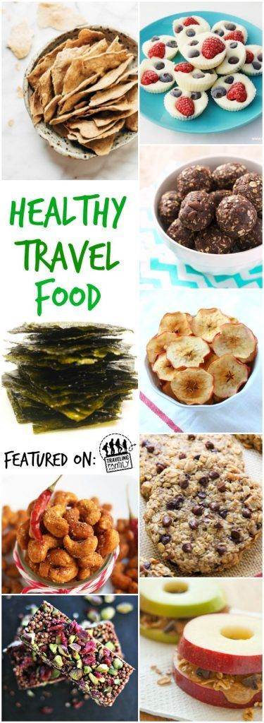 100+ Travel Food Ideas - Traveling Family Blog to help you get through long trips with your family with healthy travel snack ideas.