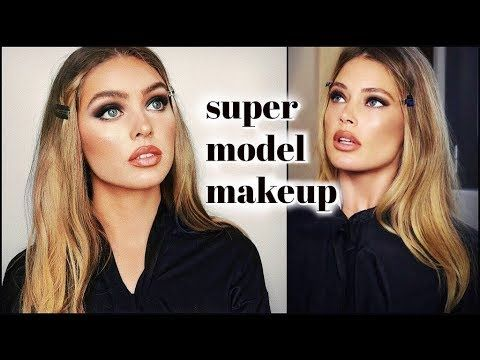 Doutzen Kroes 90s Supermodel Makeup Tutorial Youtube With