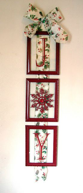 Wall Decorations With Ribbon : Snowflake ornaments dollar stores and snowflakes on