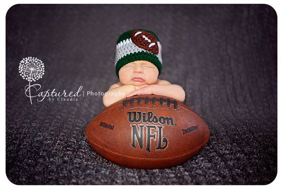 For Abram? With little packers stuff! Would be SO cute!