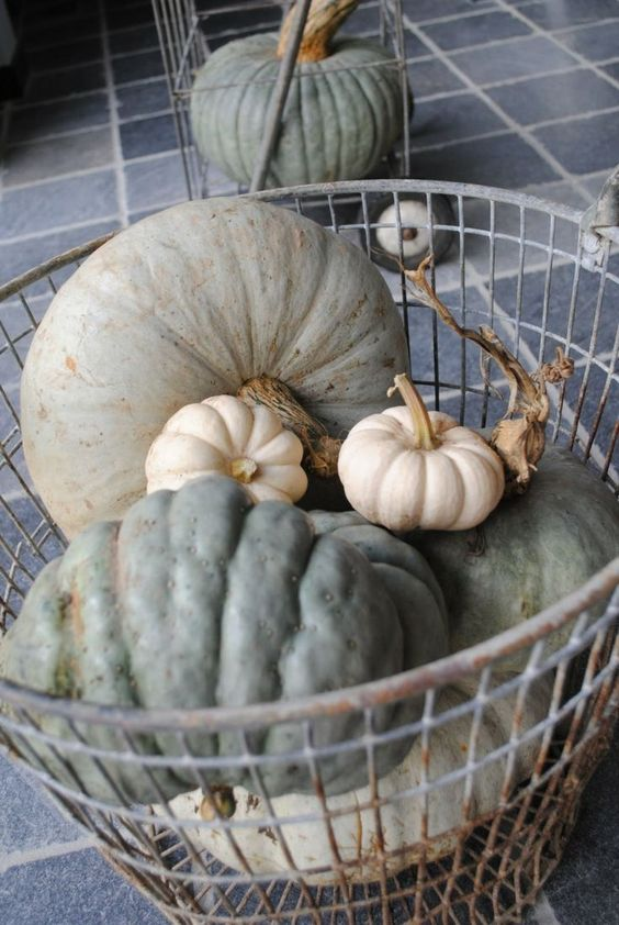 fall decorating without using orange - Google Search
