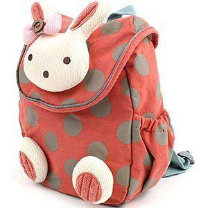 21x23x9 270g Kinder-Rucksack 3D Tier Kaninchen, Anti-Verlust, Tasche für Baby/Kleinkind/Kind