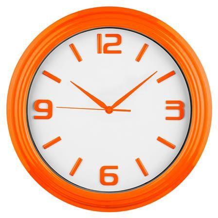Wall Clock in Orange | ACHICA