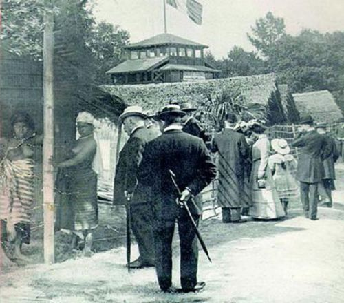 Did you know that there were Human Zoos on display in Europe and America from the 1870s to the 1950s? These public exhibits of humans, often called Negro Villages, usually showed indigenous people in a so-called natural or primitive state. The displays often emphasized the cultural differences between Europeans of Western civilization and non-European peoples.