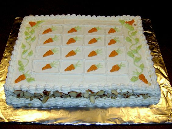 Mrs  Buttercream Cake Decorating : Buttercream Carrot Sheet Cake Mrs. Buttercream Cake ...