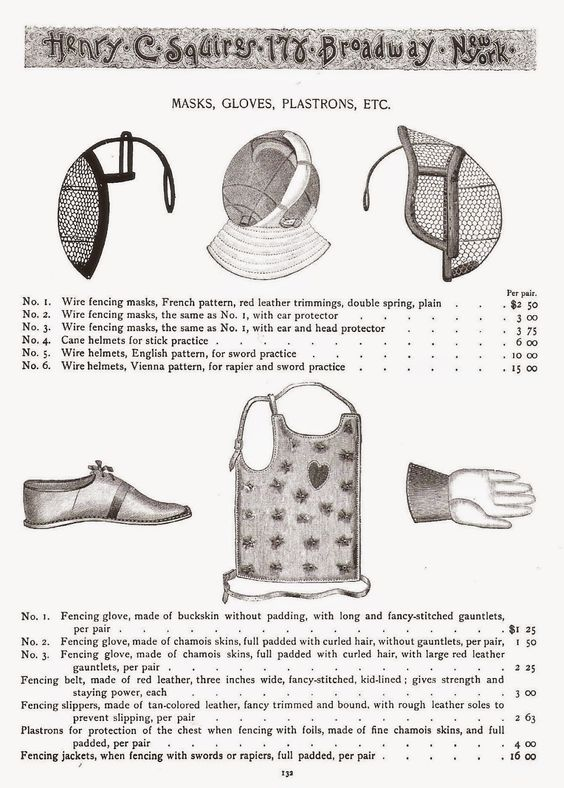 Victorian Fencing Society: The Victorian Fencing Outfit | Living By ...