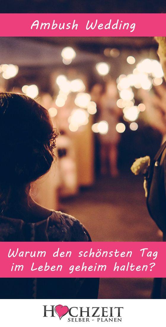 Ambush Wedding Der Trend Aus Den Usa Allgemeine Infos