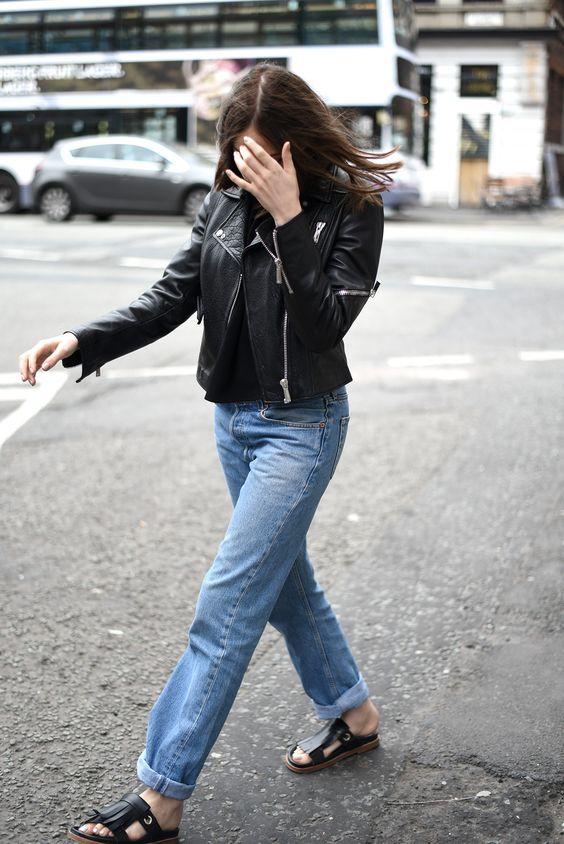 Leder und Jeans haben wir auch bei uns! #EuropaPassage #EuropaPassageHamburg #mode #leder #jeans #streetstyle