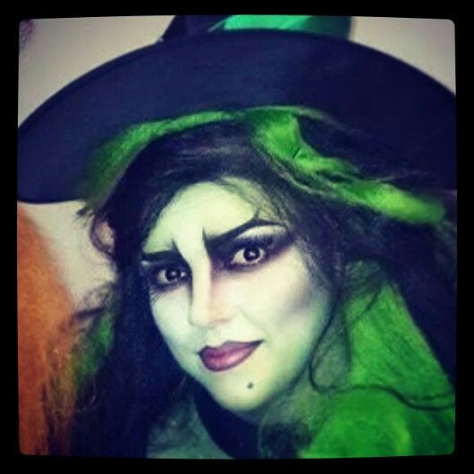 Halloween witches, Witch makeup and Witches on Pinterest
