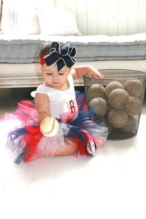 Boston Red Sox Tutu Set..... HECK YEA, I'm sooo making this for my new niece!!!