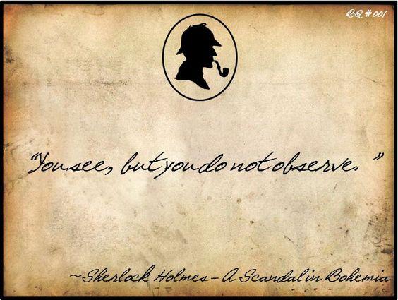 Sherlock Holmes, A Scandal in Bohemia: