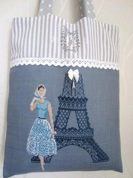 """""""La Parisienne"""" by Les Brodeuses Parisiennes."""