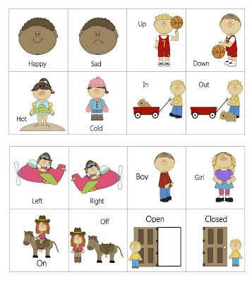 Antonym (Opposite) Puzzles | Little miss, The o'jays and Puzzle pieces