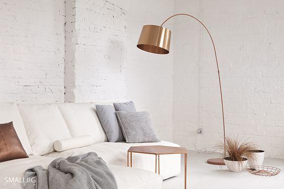 Lamps Kuta Floor Lamp Rose Gold Bedroom Rose Gold Interior Gold Bedroom