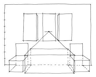 how to draw table designs in perspective