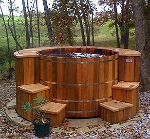we will definitely need one of these- how to make a wood fired hot tub:
