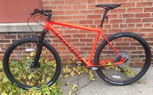 Buy 2018 Cannondale Fsi Carbon 5 Disk Brake Xl New Mountain Bike