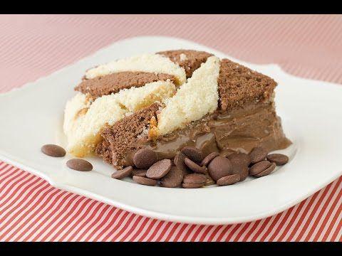 Bolo Geométrico com Creme de Chocolate Alpino - Sal de Flor