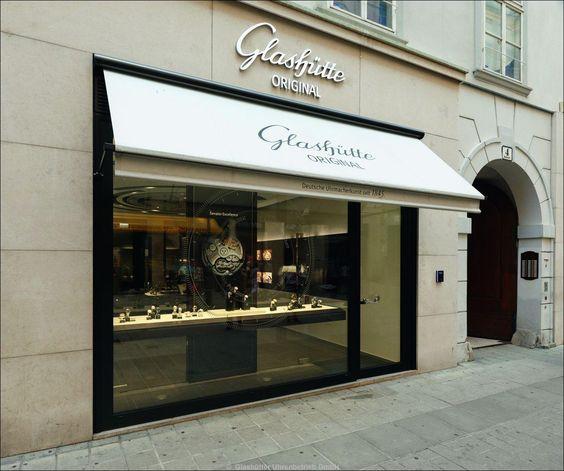 Die erste Glashütte Original Boutique in Wien