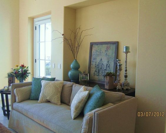 Tan and teal room living room teal tan brown color palette living room pinterest for Teal colour schemes for living rooms