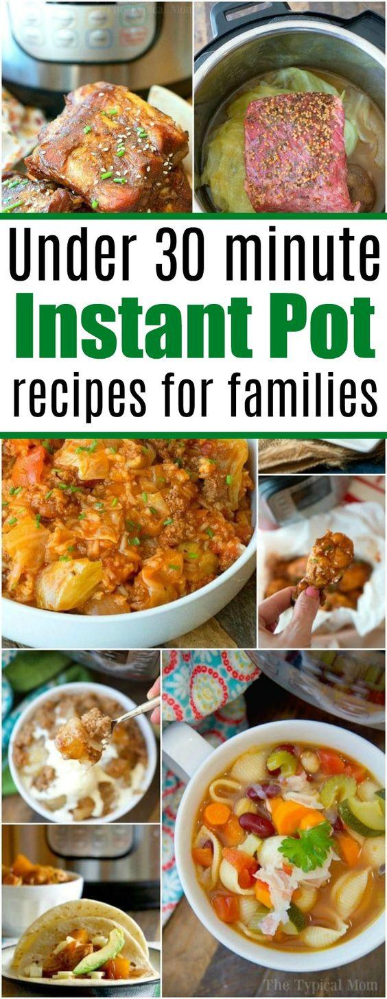 BEST Instant Pot Recipes for Families!